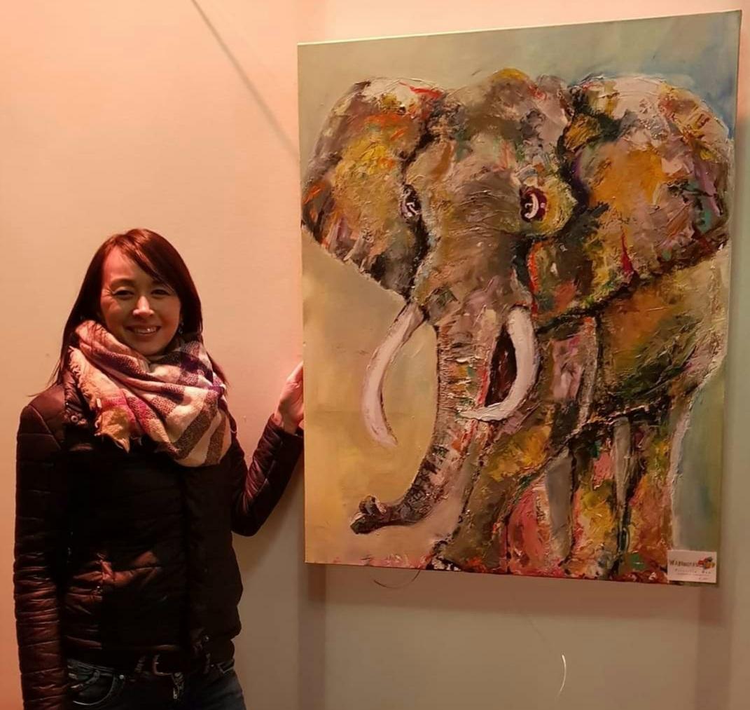 Spirituele kunst - Mr Elephantos
