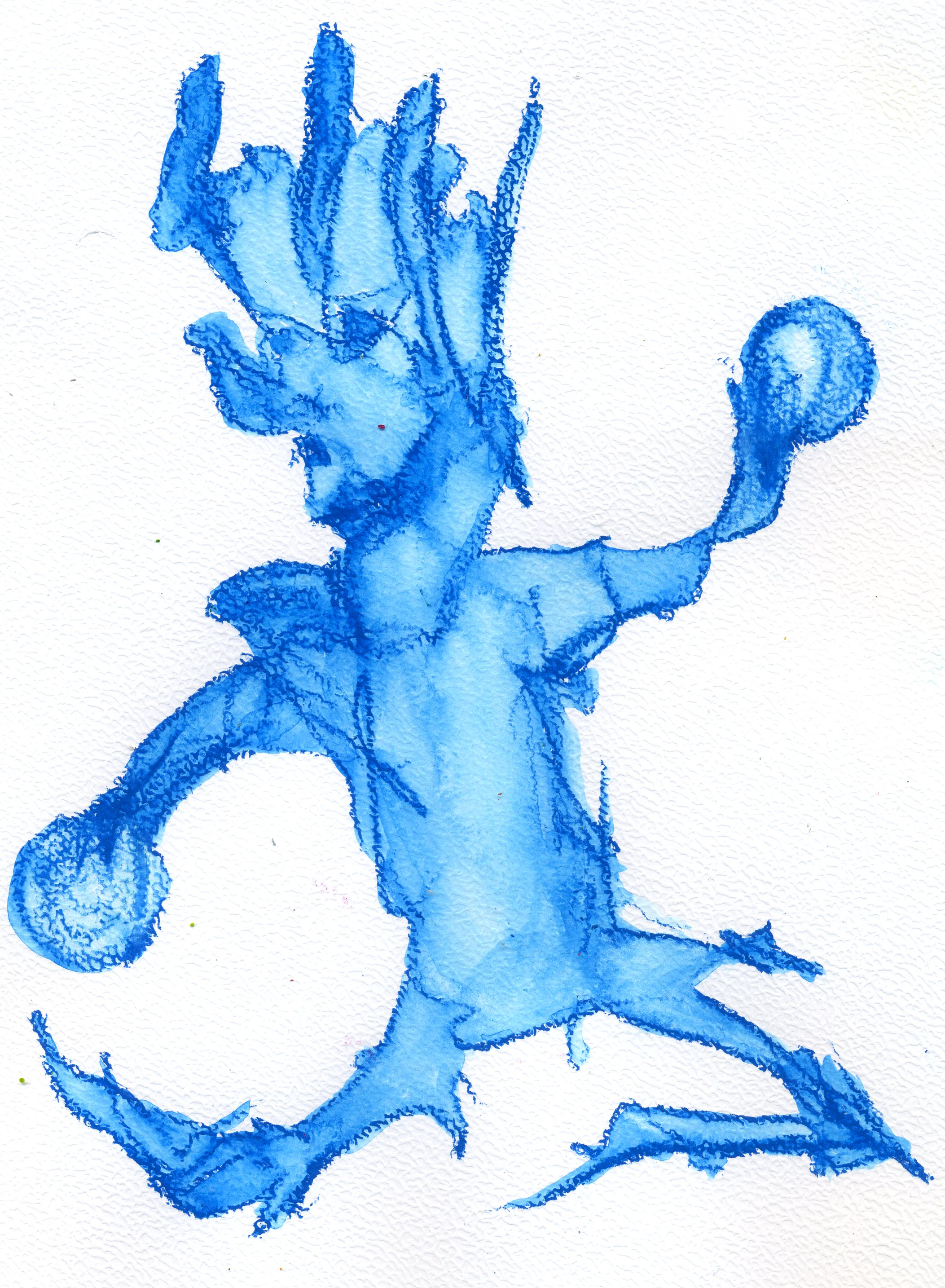 Spirituele kunst - speler of ballenjongen?